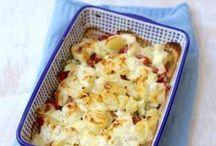 ovenschotel met kip en boursin