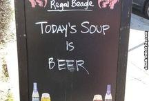 Bar Sign Humor