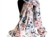 Neat & Nautical Scarves / Our amazing wholesale neat & Nautical collection of scarves is really beautiful and top high quality.  These scarves comes in large sizes and  feature a fantastic selection of unique anchor designs and colours. Very comfortable to wear in any time of the year.  Sold in packs of six in assorted colour selections, helping you to make an attractive display with ease