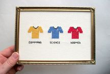 Cross stitch  / by Alana Roche