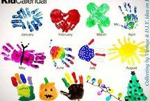 Hand print art ideas