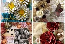 Floral Layers Decorative Dies | #couturecreationsaus / a collection of floral layering decorative dies