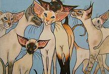Кошачьи Принты