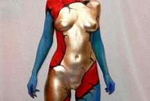 Bodypaint inspiration / body and painting ... artificial art ;-)