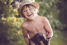 kind en dieren