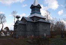 Świątynie prawosławne na Suwalszczyźnie / Cerkwie i molenny staroobrzędowwców.