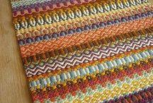 krokbragd and other Weaving
