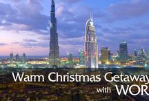 Warm Getaways For Christmas / Below is a list of nearly every major tourist destination that combines warm weather and low prices during the weeks around Christmas and New Year's.