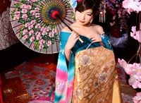 花魁体験 / 花魁 / oiran / 夢工房で花魁体験されたお客様のお写真です。