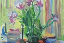 Paintings by Jane Talcott