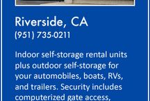 About The Storage Place / The Storage Place has been in business since 1977 and has self-storage facilities in Fountain Valley and Riverside, California. Storage rental units are sized for closets, small offices, condos, apartments, and large homes. Outdoor storage is also available for automobiles, boats, recreational vehicles (RVs,) and trailers.