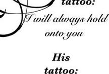 Tatoos for couples