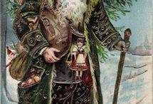 Vintage christmas / Love of vintage Saint Nicholas