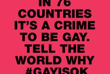 #GayIsOk / In 76 countries, it is a crime to be gay. In 10, it can cost you your life. Show the world why #GayIsOk. / by LUSH Cosmetics