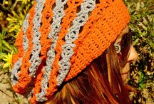 Crochet Slouchy hats / I confess, I am addicted to slouchy hats !!