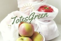 TotesGreen / Reusable Cotton produce bags made in Coffs Harbour, Australia.