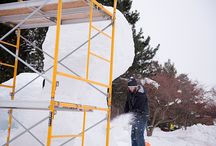 Michigan Tech Winter Carnival / A Michigan Technological University tradition since 1922, Michigan Tech's early February winter carnival is nationally known for snow statues, broomball, a torchlight parade down our ski hill and a blast of energetic winter celebration.