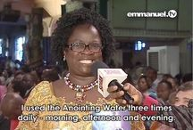 Anointing Water - Testimonies