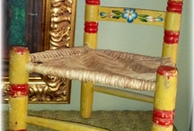 sillas de paja