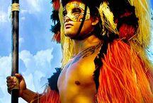 Polynesian Stilt Warriors