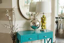 Decoração: móvel colorido / Ideias para se inspirar na decoração de sua casa