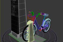 Bixi Montreal 3D Model