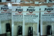 Kleartone Touch Up Stain / HOOD'S in West Alton, Missouri has Valspar Kleartone Touch Up Stain for cabinets.  Come by and check out the building materials we carry at the store.