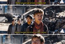 The maze runner(Newt)