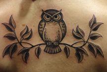 Owl Tattoo's / by Zoey Moen