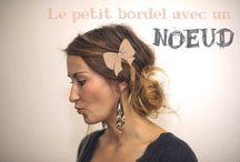 Petites Idées pour se Coiffer / by @lly02 Le Blog