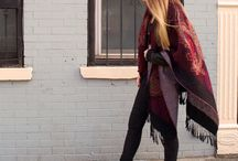Winter Street Style / Vintage & contemporary winter fashion