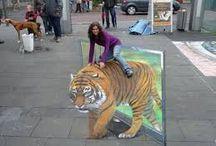 street painting 3D