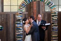 Library Themed Wedding