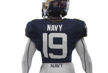 New Nike Football Uniform Designs for Navy / The official pictures of the uniform that Navy will wear when they battle Army on December 14th!  / by Navy Athletics