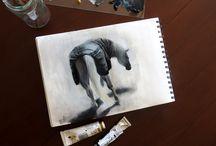 My sketchbook / See more on my website: dymanska.com