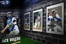 Sports 3D Wall Photoshop Template