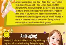 beauty tips / using natural ingredients to beautify