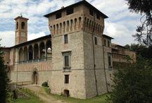 Castello Bufalini / Il primo proprietario della fortezza/ castello Nicolò di Manno Bufalini. Il castello fu venduto nel 1989 allo Stato per 2 miliardi di lire con lo scopo di aprirlo al pubblico.  / by Qualified Tourist Guide Tourguideandtourism.com