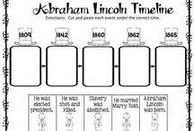 Abraham lincoln writing