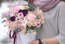 Branding and marketing images for florists