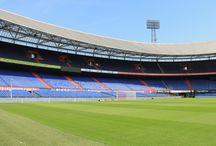 """De Kuip"" - stadion Feyenoordu - Rotterdam"