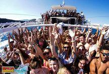 Malia Booze Cruise Boat Party