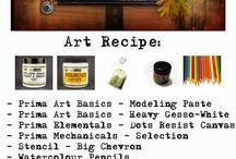 Art Recipe.......♥