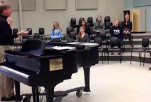 Choral rehearsal ideas