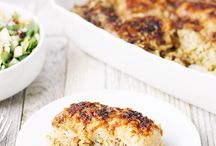 ONE PAN DINNERS / Dinner ideas that can be completed in one pan, one sheet pan, one pot, one dish.