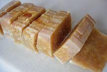 Jabón aceite oliva y miel