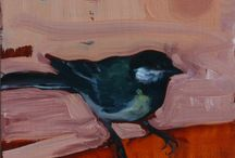 Birds / Painted by Eva de Visser