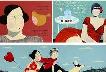 Favourite illustrators - Angela Smyth