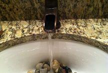 Zen bathroom sink / Love it!!! / by Amber Jones Brunk