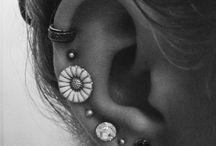 Hippie Earing Piercings